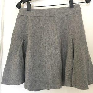 Banana Republic wool fit and flare skirt